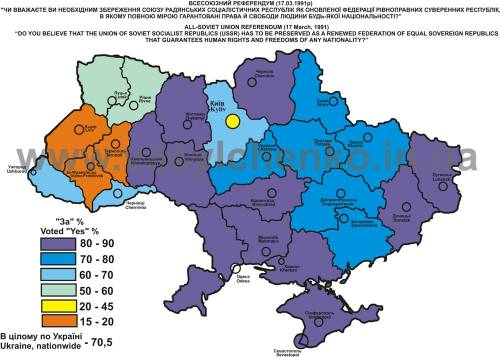уход итоги референдума на украине в 1991 году специально